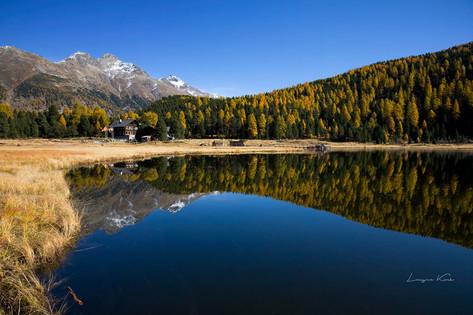 Stazersee, Graubünden (Schweiz)