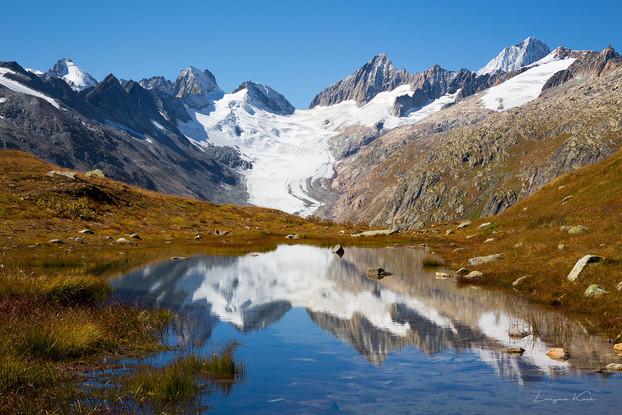 Oberaar, Grimselgebiet, Berner Oberland (Schweiz)