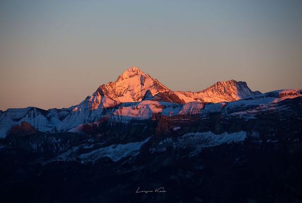 Wetterhorn und Berglistock