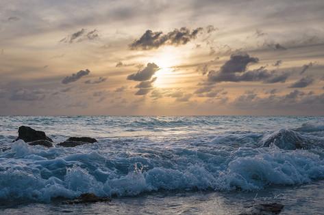 Bewegtes Meer