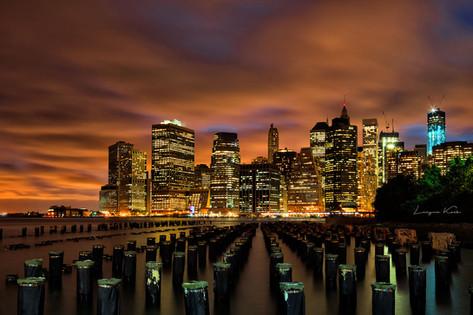 NYC by night