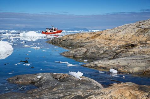 Eis in Disko Bucht