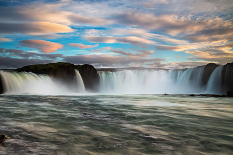"""Goðafoss """"Der Göttliche Wasserfall"""""""