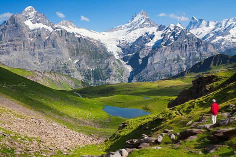 Kleiner See, Grindelwald - First, Berner Oberland (Schweiz)