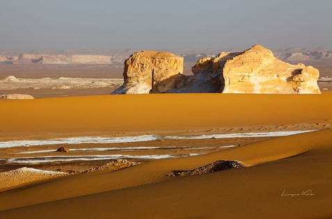 Felsen im Sand