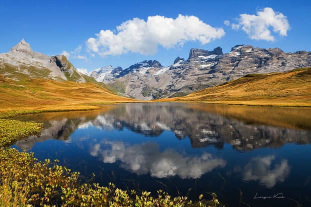 Blausee, Melch - Frutt, Zentralschweiz (Schweiz)