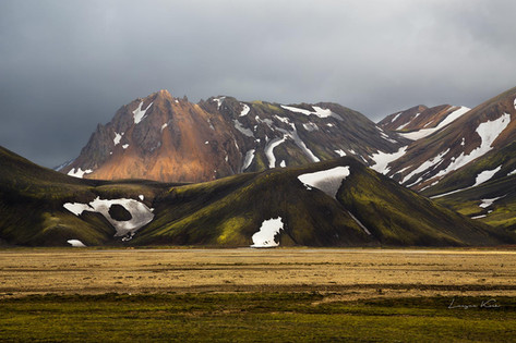 Farbenfrohe Berge