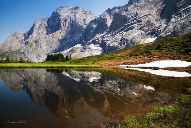 Grosse Scheidegg, Berner Oberland (Schweiz)