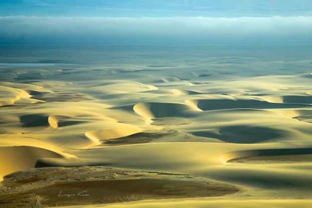 Dünen aus der Vogelperspektive