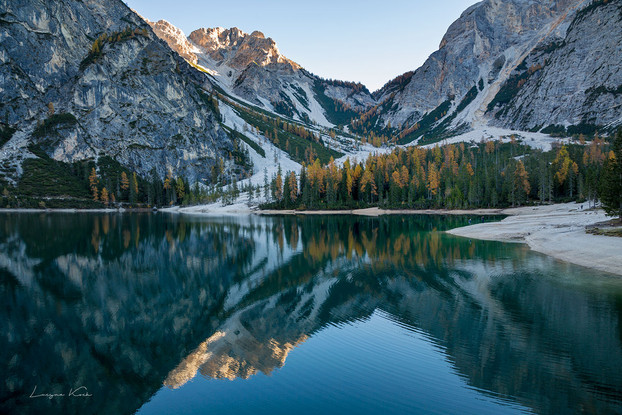 Pragser Wildsee, Dolomiten, Südtirol (Italien)