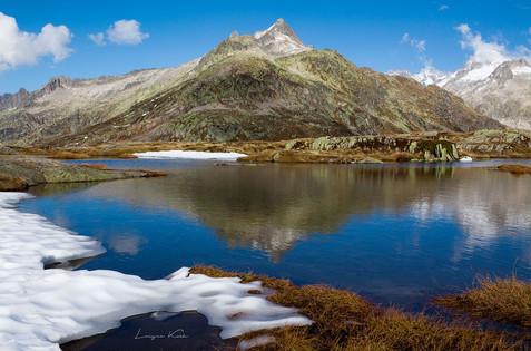 Seelandschaft, Grimselgebiet, Berner Oberland (Schweiz)