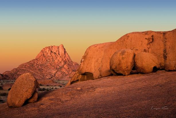 Spitzkoppe bei Sonnenaufgang