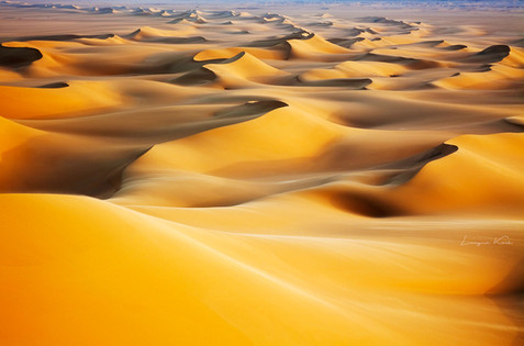 Endlose Sanddünen