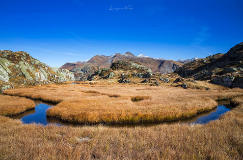 Grimselgebiet, Berner Oberland (Schweiz)