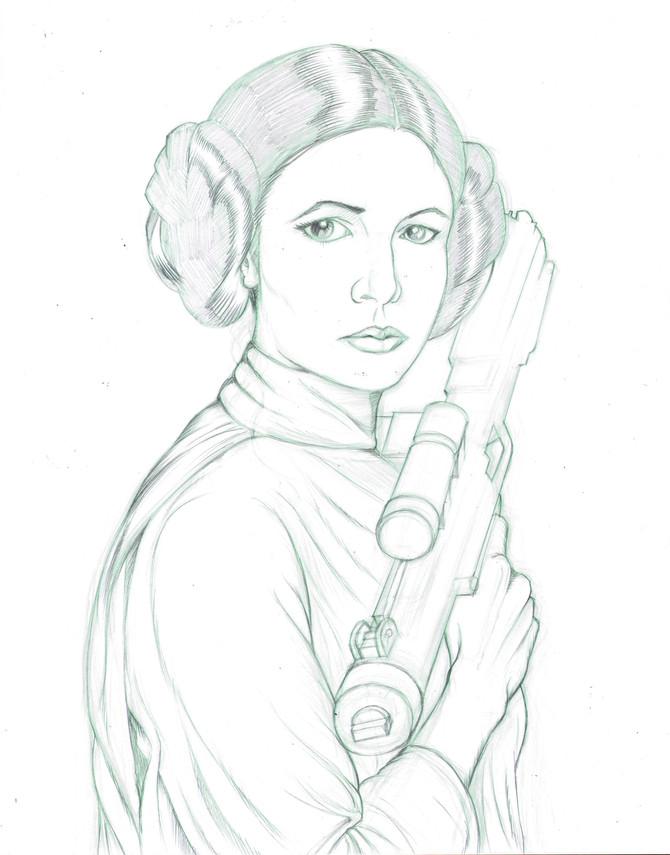 Tribute to Carrie Fisher aka Princess Leia