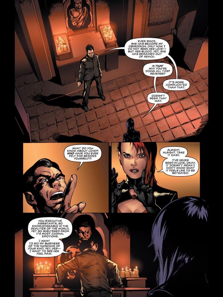 Exectutive Assistant: Assassins