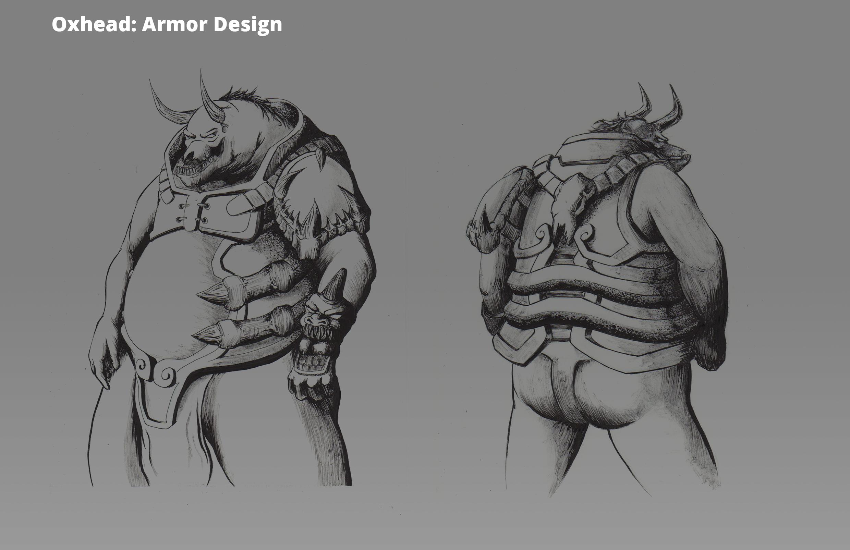 Oxhead: Armor Design Turnaround