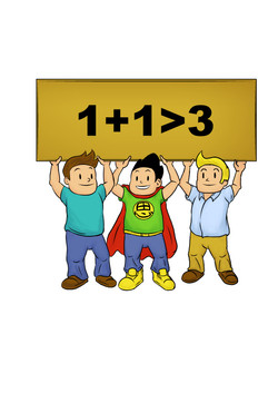 1+1 equals more than 3