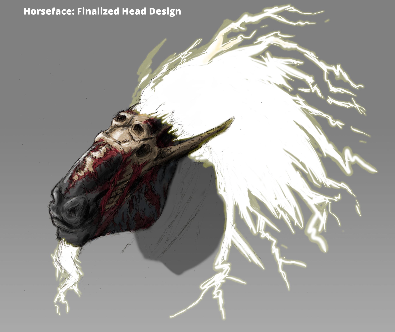 Horseface: Head Study