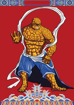 Marvel Door gods: The Thing