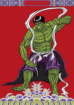 Marvel Doorgods: The Hulk