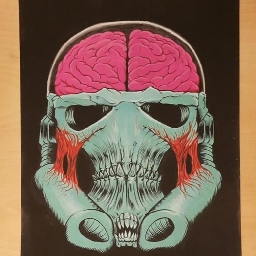 Giger's Stormtrooper Colored