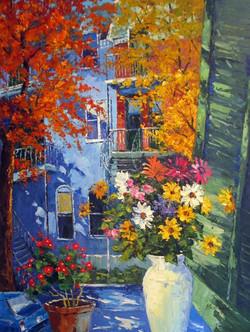"""Fresh Blooms"" 36 x 48, $3,495"