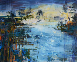 """Early Morning 30""""x36"""" SOLD"""