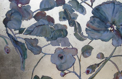 """Sunlit Garden 36""""x24"""" $5,600"""
