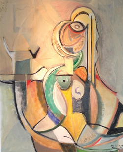 """Nude Woman 36""""x41"""" SOLD"""