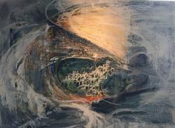 "30"" x 40"", Oil on Canvas, $3,600"