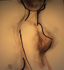 "Oil on Canvas, 32.5""x39"", $4,200"