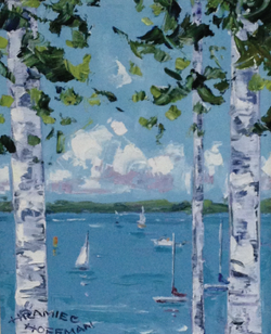 """Peaceful Day 8""""x10"""" SOLD"""