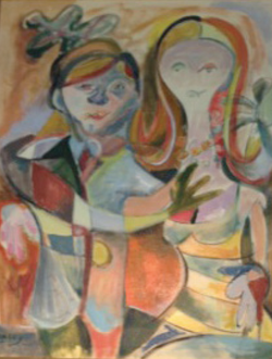 Man and Woman SOLD