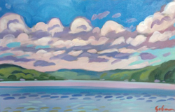 "Walloon Lake 24""x36"" $3,900"