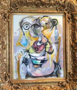 "Oil on Canvas, 24""x30"", $4,200"