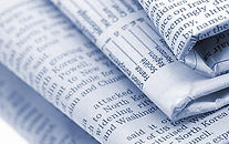stock photo of paper articles