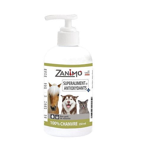 Super aliment et antioxydants 100% chanvre Zanimo 250ml (sans pompe)