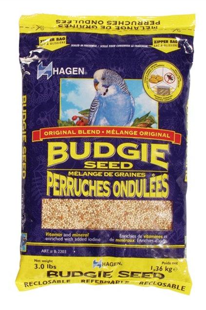 Mélange de graines pour perruches ondulées Hagen 1.36kg