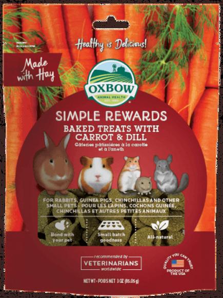 Gâteries au four carottes et aneth Oxbow 85.05gr