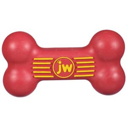 Jouet de caoutchouc os iSqueak JW