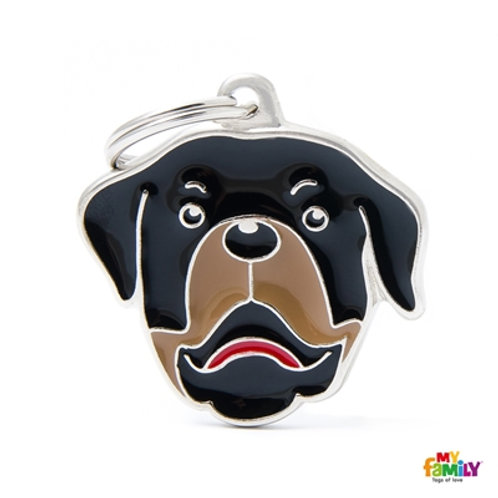 Médaille MyFamily Friends Rottweiler