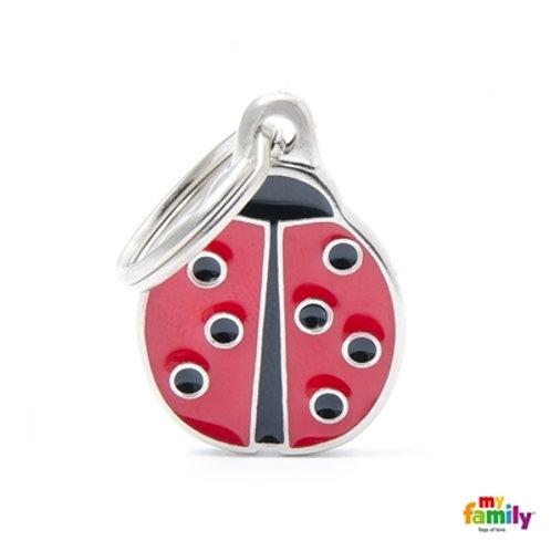 Médaille MyFamily Charms Coccinelle