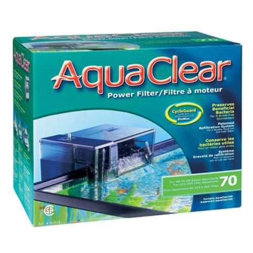 Filtreur AquaClear 70 (pour 40 à 70 gallons)