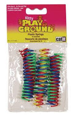 Ressorts de plastique Kitty PlayGround (x10)