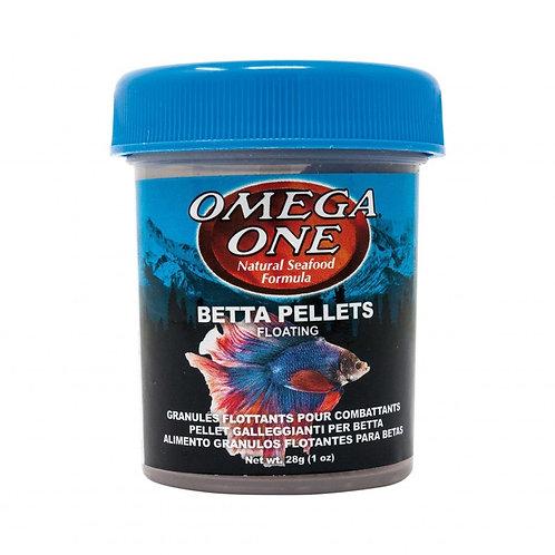 Aliment en granulés pour bettas Omega One 28gr