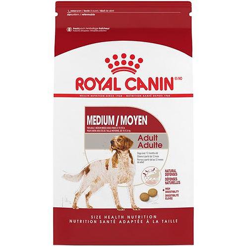 Nourriture Medium adulte RoyalCanin 13.61kg