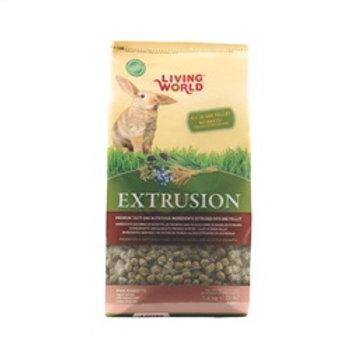 Nourriture extrudés pour lapins Extrusion Living World 1.4kg