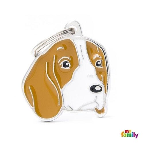Médaille MyFamily Friends Beagle