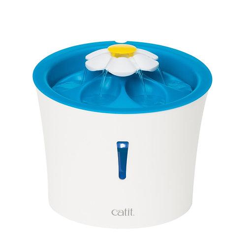 Abreuvoir électrique avec fleur et LED 3L CatIt